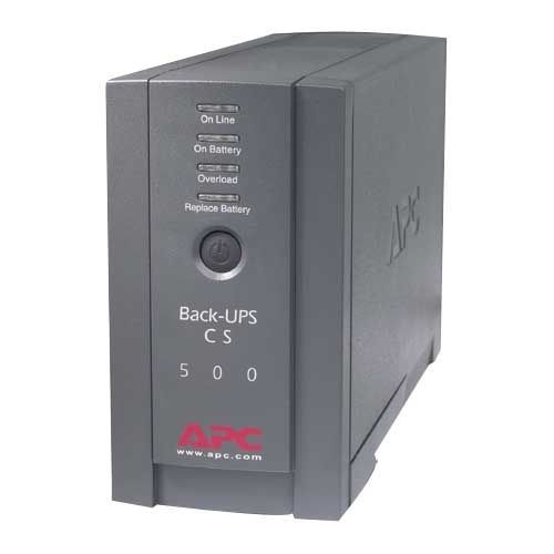 Apc Back-ups Cs 500va Tower Ups - 500va/300w - 3 Minute