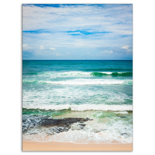 designart indian ocean seascape photography canvas art print