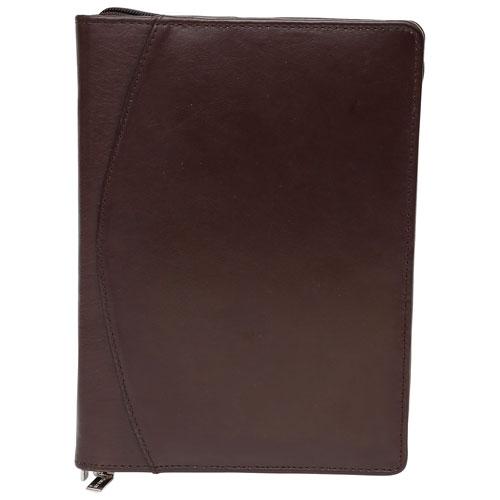 "Ashlin Aereo Universal 7"" Tablet Leather Folio Case - Dark Brown"