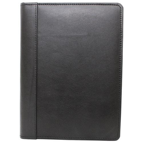 "Ashlin AereoPro Universal 7"" Tablet Leather Folio Case - Black"