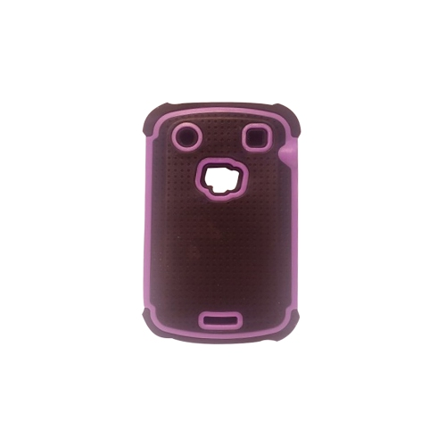 Blackberry 9300/9900 Rugged Hybrid Case - Purple