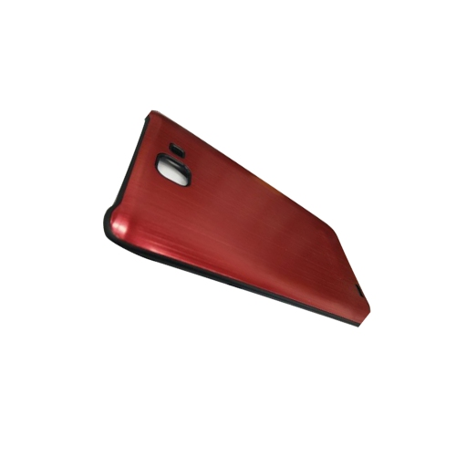 Ultra Thin Textured Hard Case for Samsung Galaxy Note 2 - Red