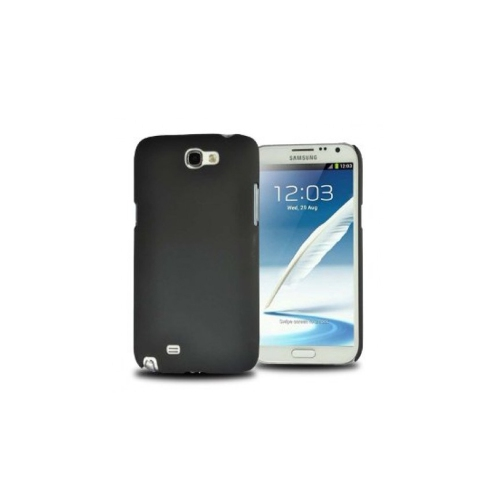 Slim Hard Shell Snap-on Cover Case for Samsung Galaxy Note 2 - Black