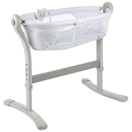 Summer Infant Close to Me Bedside Bassinet - White Blue   Bassinets ... 2a82370f8