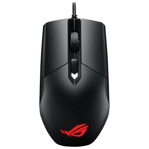 ASUS ROG Strix Impact 5000 DPI Optical Gaming Mouse - Black
