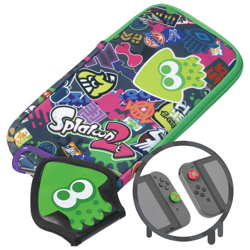 Trousse Splat Pack Splatoon 2 de Hori pour Switch