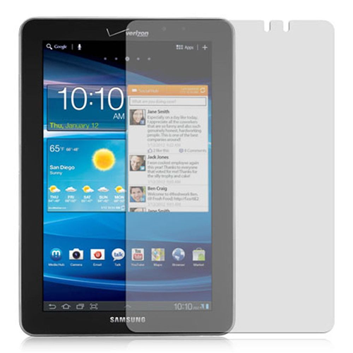 Insten Clear LCD Screen Protector Film Cover For Samsung Galaxy Tab 7.7