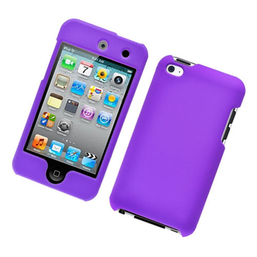 Insten Hard Case For Apple iPod Touch 4th Gen, Purple
