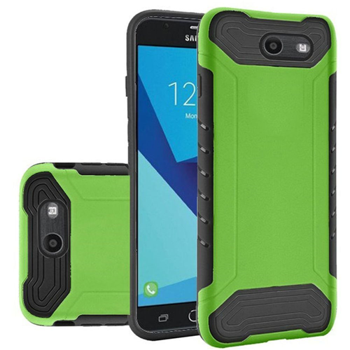 Insten Slim Armor Hard Case For Samsung Galaxy Halo/J7 (2017)/J7 Perx/J7 Prime, Neon Green
