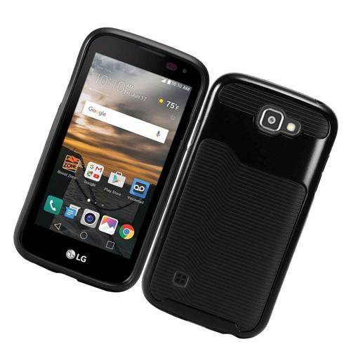 Insten Slim Hard TPU Case For LG K3 (2016), Black