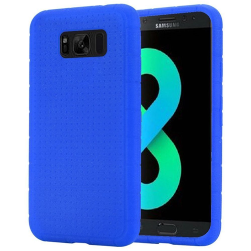 Insten Rugged Rubber Cover Case For Samsung Galaxy S8 Plus, Blue