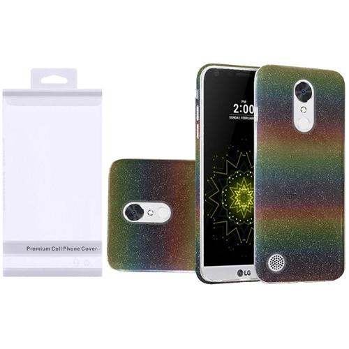 Insten Hard Glitter TPU Cover Case For LG Grace 4G/Harmony/K20 Plus/K20 V, Colorful