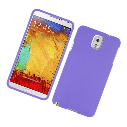 Insten Hard Cover Case For Samsung Galaxy Note 3, Purple
