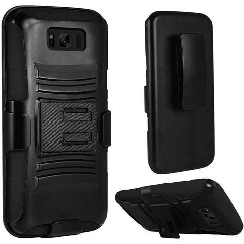 Insten Holster Case for Samsung Galaxy S8 Plus - Black