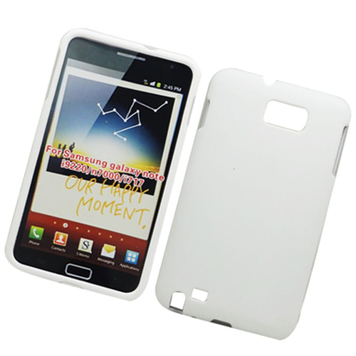 Insten Hard Cover Case For Samsung Galaxy Note LTE, White