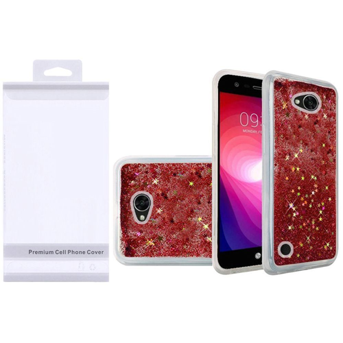 Insten Quicksand Hard Glitter TPU Cover Case For LG Fiesta LTE/K10 Power/X Charge/X Power 2, Rose