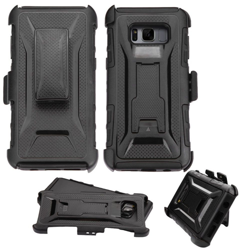 Insten Holster Case for Samsung Galaxy S8 - Black