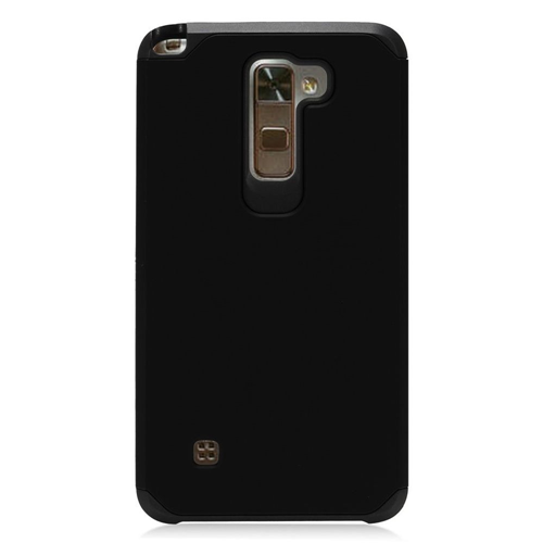 Insten Hard Dual Layer TPU Case For LG Stylo 2/Stylus 2, Black