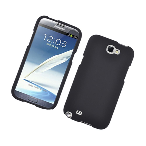 Insten Hard Cover Case For Samsung Galaxy Note II, Black