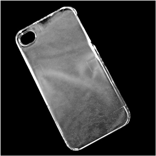 Insten Hard Plastic Cover Case For Apple iPhone 4/4S, Clear