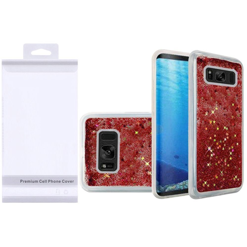 Insten Quicksand Hard Glitter TPU Cover Case For Samsung Galaxy S8, Rose