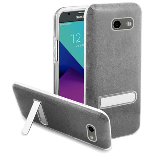 Insten Hard Case For Samsung Galaxy Amp Prime 2/Express Prime 2/J3 (2017)/J3 Eclipse, Smoke