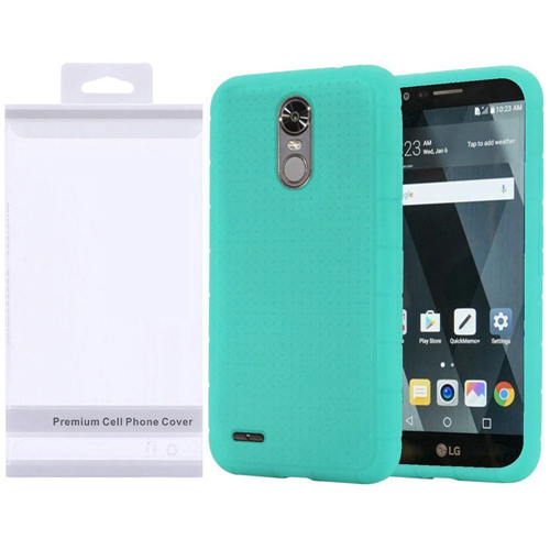 Insten Soft Rubber Case For LG Stylo 3, Teal