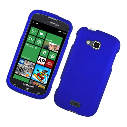 Insten Hard Rubber Cover Case For Samsung ATIV Odyssey, Blue