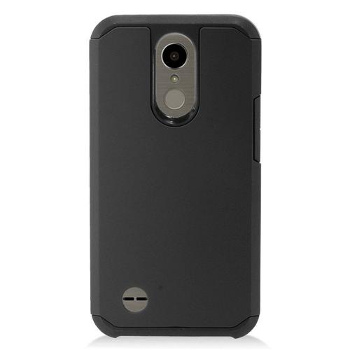 Insten Hard TPU Case For LG Harmony/K10 (2017)/K20 Plus/K20 V, Black