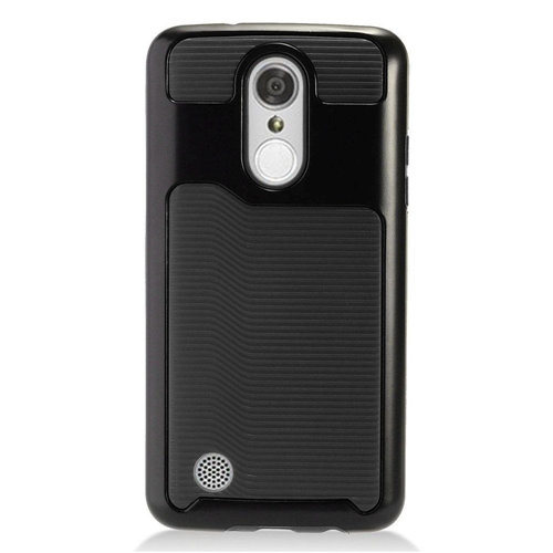 Insten Slim Hard TPU Cover Case For LG Aristo/Fortune/K4 (2017)/K8 (2017)/LV3/Phoenix 3, Black