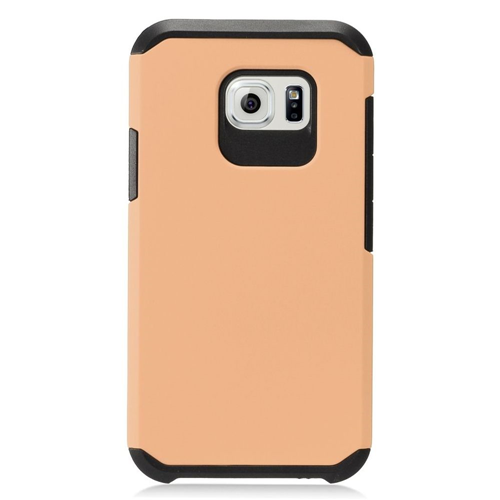 Insten Hard Hybrid TPU Cover Case For Samsung Galaxy S7 Active, Rose Gold/Black