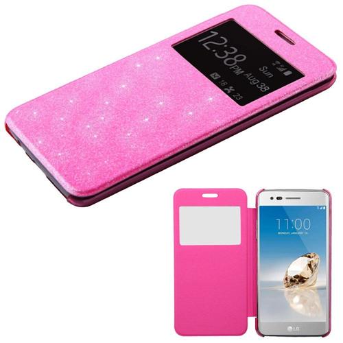 Insten Hard Plastic Case For LG Aristo/Fortune/K4 (2017)/K8 (2017)/LV3/Phoenix 3, Pink