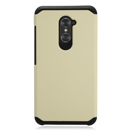 on sale 420cf cc7af Insten Hard Dual Layer TPU Case For ZTE Grand X Max 2 Imperial Max Kirk Max  Duo 4G, Gold Black