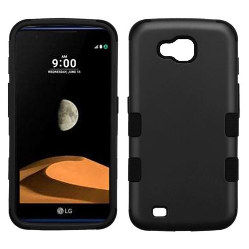Insten Tuff Hard Hybrid TPU Case For LG V9/X Venture, Black
