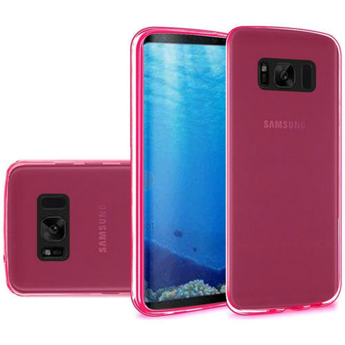 Insten Fitted Soft Shell Case for Samsung Galaxy S8 - Hot Pink
