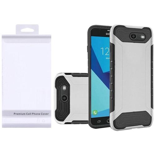 Insten Slim Armor Hard Case For Samsung Galaxy Halo/J7 (2017)/J7 Perx/J7 Prime, White