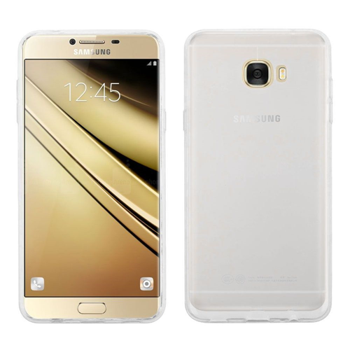Insten TPU Cover Case For Samsung Galaxy C7 Pro, Clear