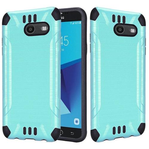 Insten Hard Cover Case For Samsung Galaxy Halo/J7 (2017)/J7 Perx/J7 Prime/J7 Sky Pro/J7 V, Teal
