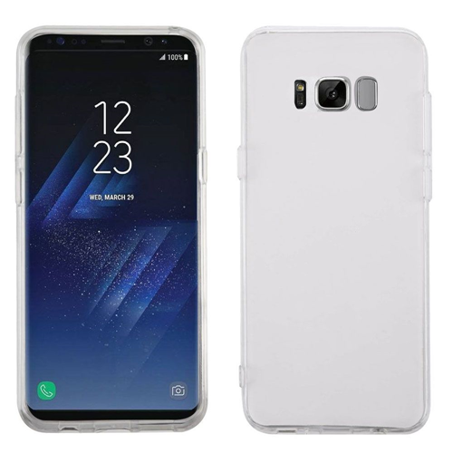 Insten Fitted Soft Shell Case for Samsung Galaxy S8 Plus - Clear