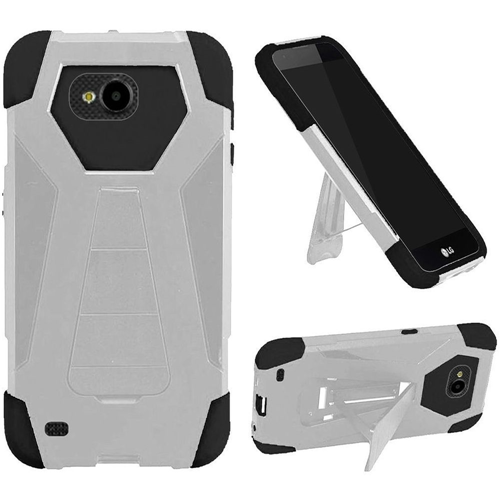 Insten Fitted Soft Shell Case - White;Black