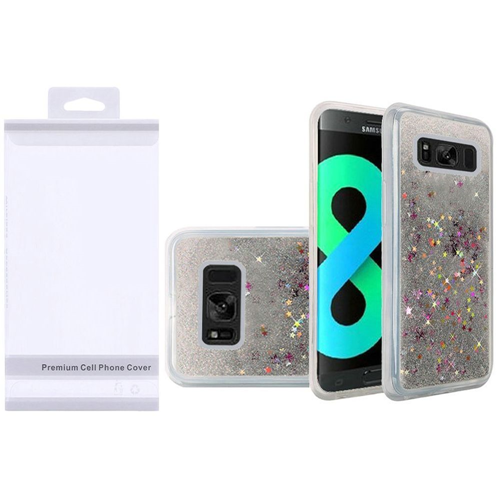 Insten Quicksand Hard Glitter TPU Case For Samsung Galaxy S8 Plus, Silver