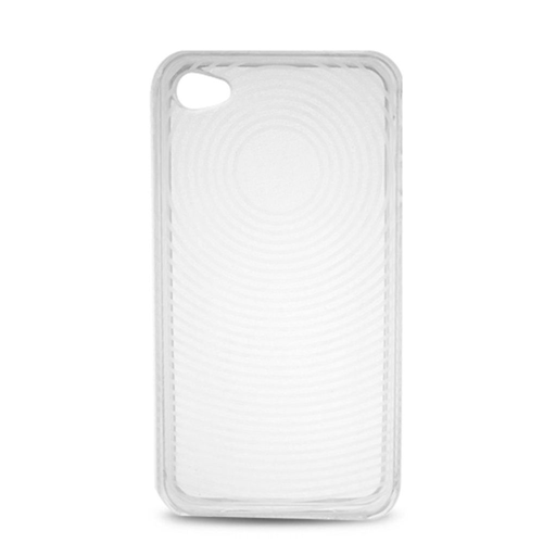 Insten Gel Case For Apple iPhone 4, Clear