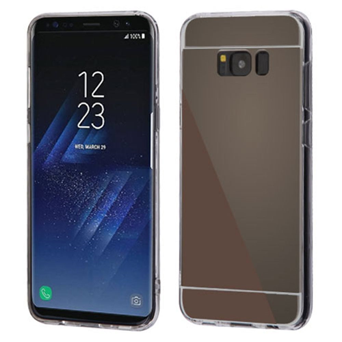 Insten TPU Cover Case For Samsung Galaxy S8 Plus, Black/Clear