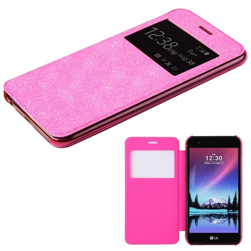 Insten Hard Plastic Cover Case For LG Harmony/K10 (2017)/K20 Plus/K20 V, Pink