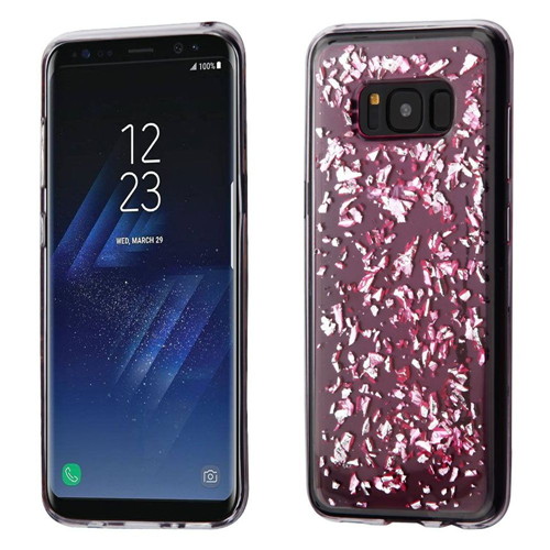 Insten Flakes Gel Cover Case For Samsung Galaxy S8, Pink
