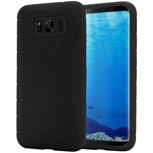 Insten Rugged Rubber Case For Samsung Galaxy S8, Black