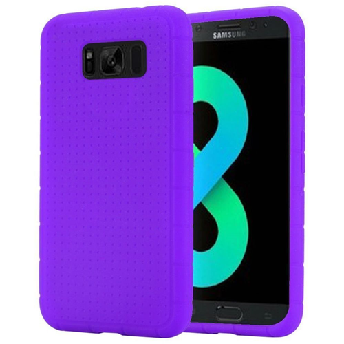 Insten Rugged Rubber Case For Samsung Galaxy S8 Plus, Purple