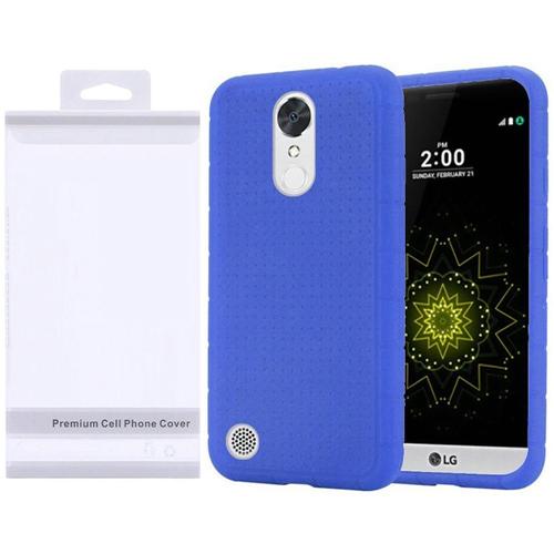 Insten Rubber Case For LG Grace 4G/Harmony/K20 Plus/K20 V, Blue