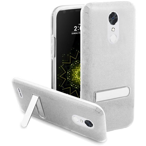 Insten Hard Plastic TPU Cover Case w/stand For LG Grace 4G/Harmony/K20 Plus/K20 V, Clear