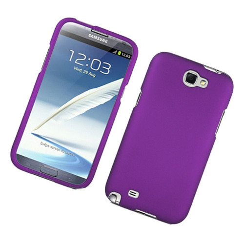 Insten Hard Cover Case For Samsung Galaxy Note II, Purple
